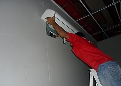 AIRCOND INDOOR UNIT INSTALLATION