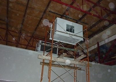 AIRCOND PACKAGE INSTALLATION