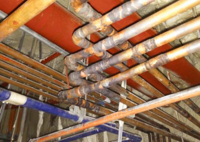 COPPER PIPE INSTALLATION 04