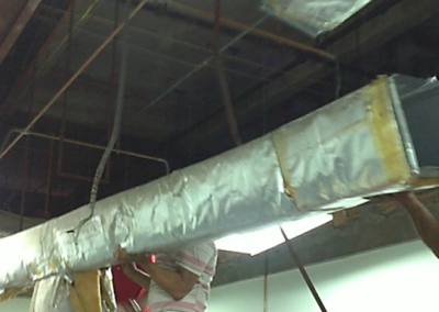 DISMANTLE DUCTING
