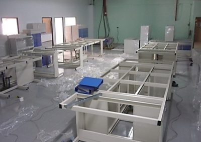 LAB BENCH INSTALLATION