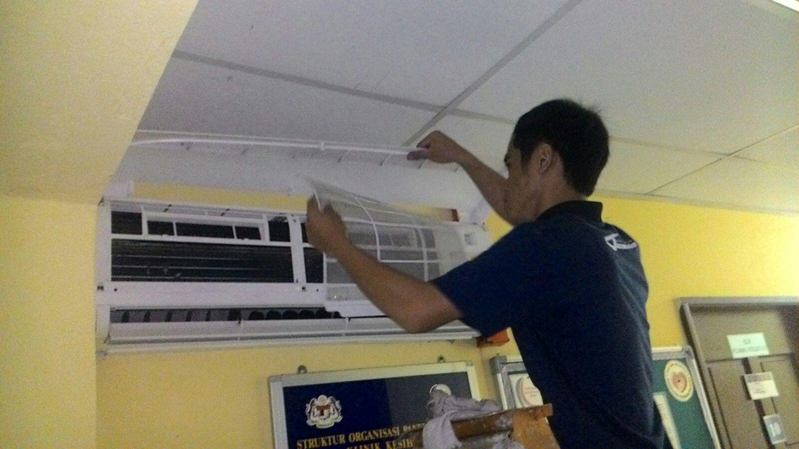 Sabah S Hospital Air Conditioning Maintenance Jana