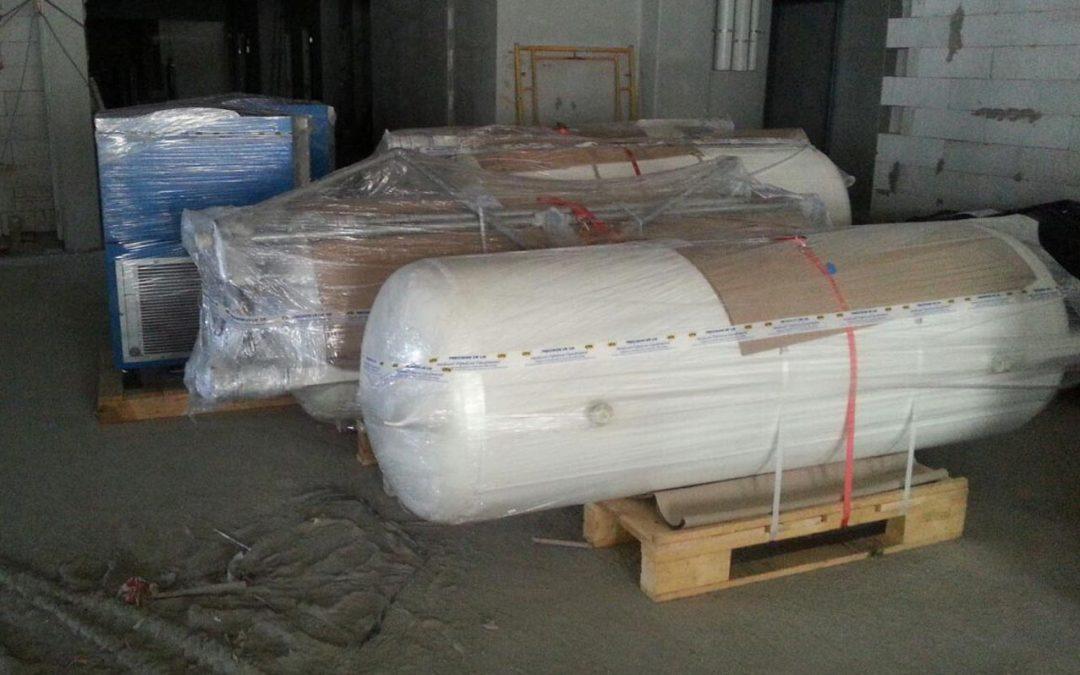 CPX MGPS Material Arrival at HTAR, Klang