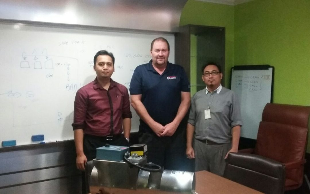 Courtesy Visit by Mr. Eric Dowell From Accutroll To JTR HQ