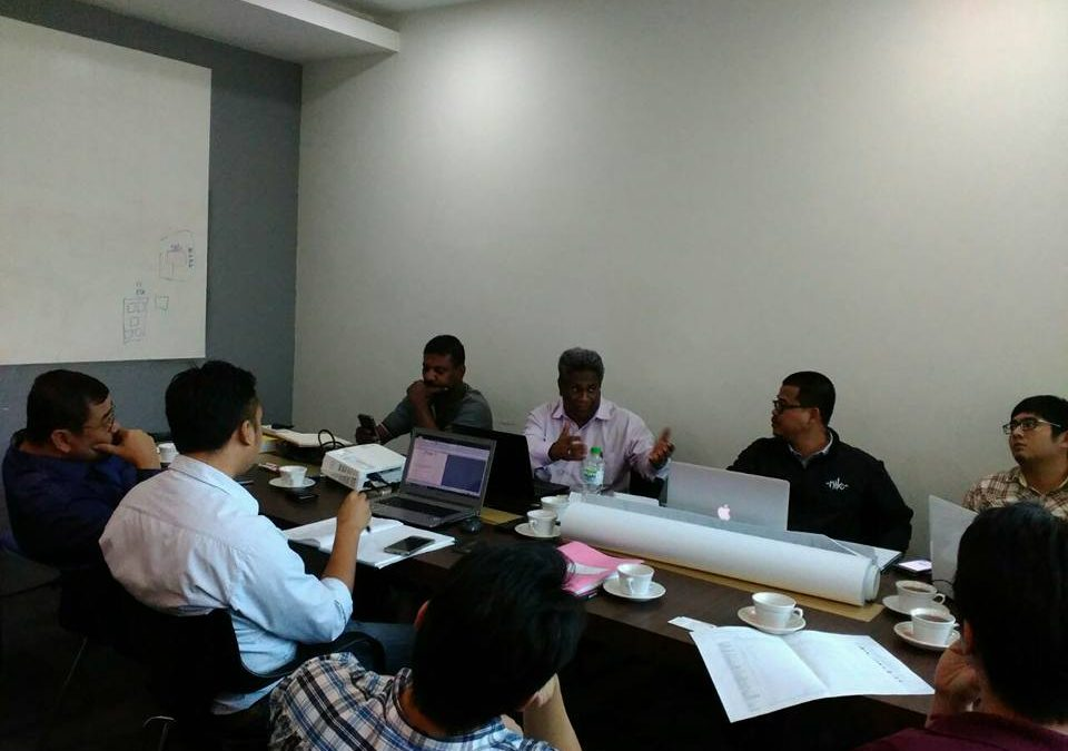 Project Coordination Meeting at Petrajaya, Sarawak