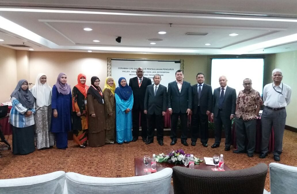 AGM of Malaysia Asset and Project Management Association (MAPMA) 2017