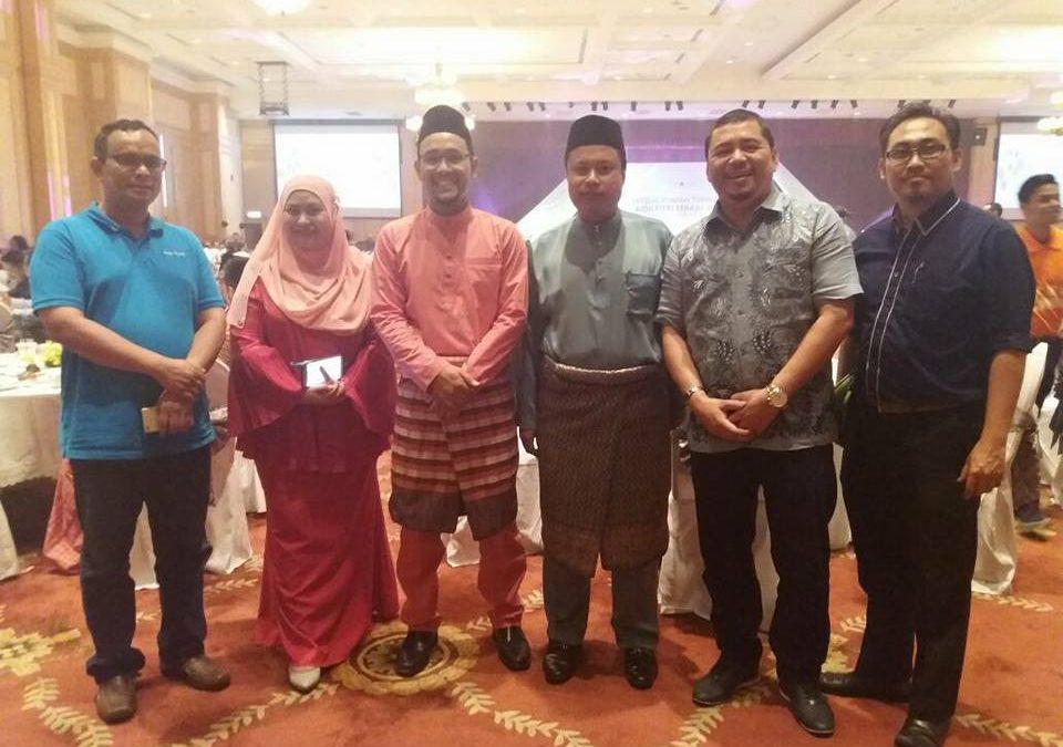 Jemputan ke Majlis Rumah Terbuka Aidilfitri TERAJU 2017
