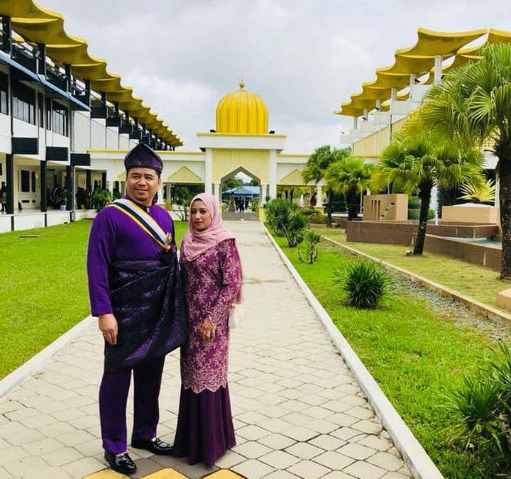 Majlis Anugerah Pingat Kebesaran Darjah Indera Mahkota Pahang kepada Pengarah Urusan JTR