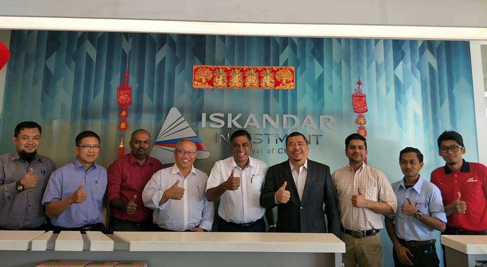 Coordination Meeting with Iskandar Investment