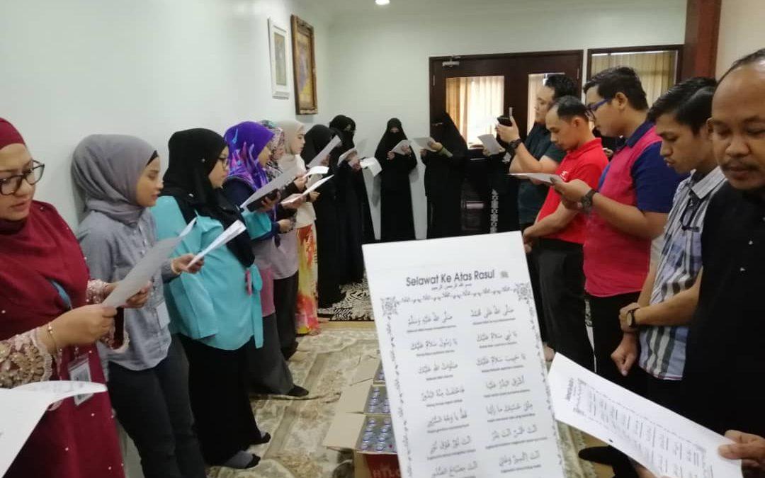 Majlis Bacaan Yassin Bulanan dan Sambutan Maulidul Rasul HQ