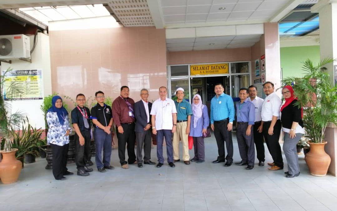 Lawatan Tn. Haji Tauran, Pengarah Kejuruteraan KKM Malaysia
